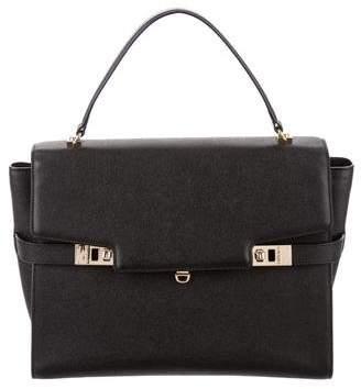 Henri Bendel Uptown Leather Satchel
