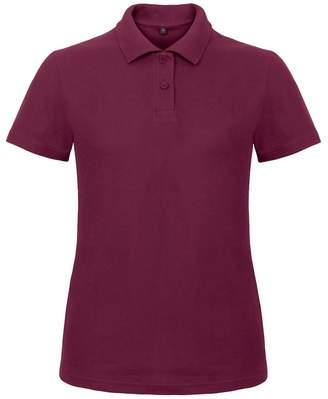 at Amazon Canada · BC B C Womens Ladies ID.001 Plain Short Sleeve Polo  Shirt ... 07ca2194af