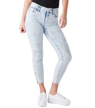 Levi's Denizen From Levis Juniors' DENIZEN from Zipper High-Waisted Ankle Jeggings