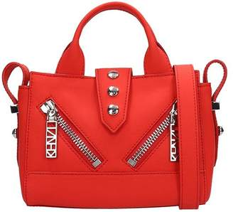 2c1ee6859a0 Kenzo Red Rubberized Leather Kalifornia Mini Bag