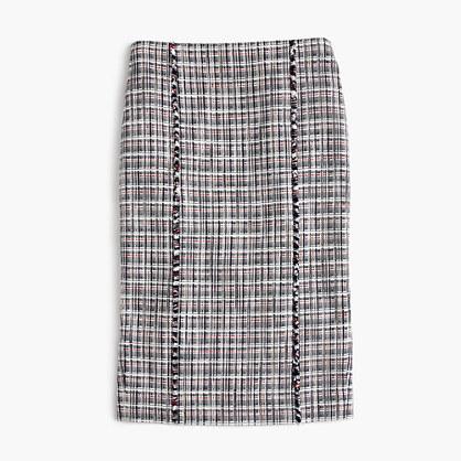J.CrewPetite pencil skirt in lightweight tweed