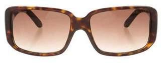 Prada Logo Tortoiseshell Sunglasses