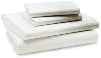 Oake Speckled Colorblock Sheet Set, Queen - 100% Exclusive