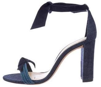 Alexandre Birman Clarita Denim Sandals