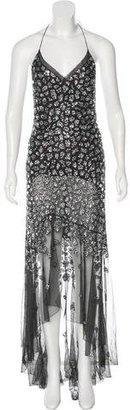Jenny Packham Embellished Halter Dress $945 thestylecure.com