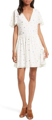 Women's Rebecca Minkoff Crosby Minidress $218 thestylecure.com