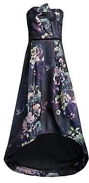 Parker Black Women's Estelle Strapless High-Low Ball Gown