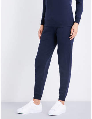 Sunspel Relaxed-fit cotton-jersey jogging bottoms $93 thestylecure.com