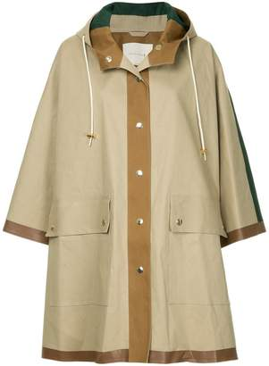 MACKINTOSH hooded poncho