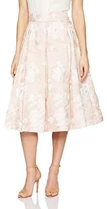Eliza J Women's Floral Midi Skirt