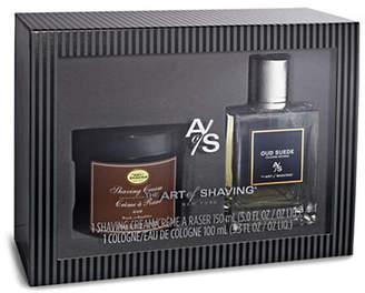 The Art of Shaving Oud Suede Fragrance Two-Piece Set