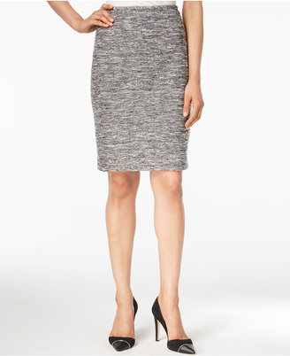Calvin Klein Tweed Pencil Skirt $79 thestylecure.com