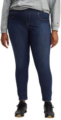 Levi's Plus Classic Pull-On Skinny-Leg Jeggings