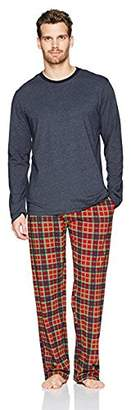 The Slumber Project Men's Long Sleeve Tee with Cuff and Sleep Pant