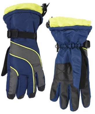 Cold Front Men's Waterproof and Windproof Technical Snowboard Gloves with Zipper Pocket