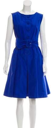 Prada Knee-Length Silk Dress