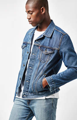 Levi's Stone Wash Denim Trucker Jacket