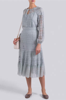 Temperley London Wondering Lace Skirt
