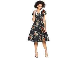 Unique Vintage Campbell Swing Dress Women's Dress