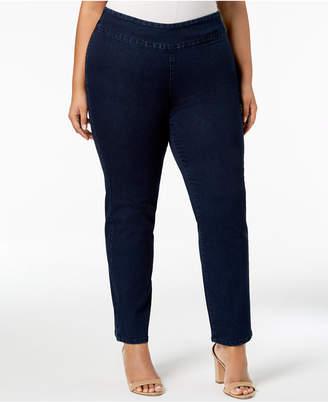 Charter Club Plus Size Stretch Denim Pull-On Jeans