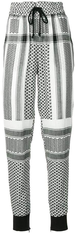 Cecilie Copenhagen drawstring trousers
