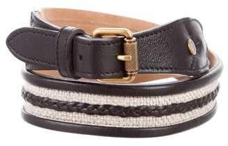 Proenza Schouler Leather Buckle Belt