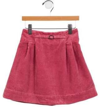 Rachel Riley Girls' Pleated Corduroy Skirt