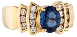 Le Vian 18K Sapphire & Diamond Ring $1,295 thestylecure.com