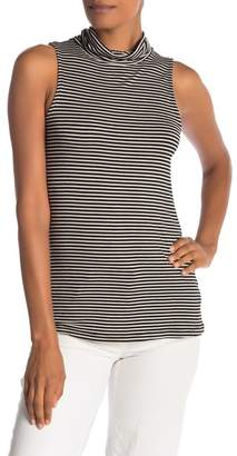 Bobeau Mock Neck Tank