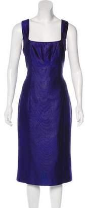 L'Wren Scott Jacquard Midi Dress