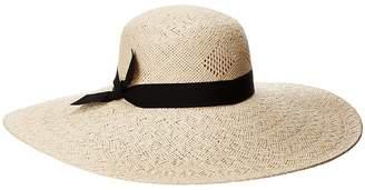 Lauren Ralph Lauren Pointelle Sun Hat with Bow Caps