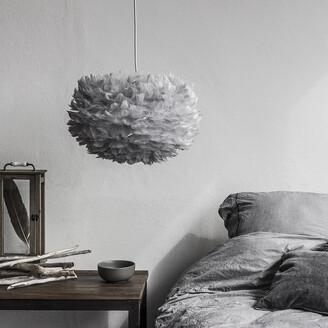 EOS UMAGE Feather Lamp Shade - Grey - Medium