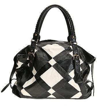 Parquet Buckle Bag
