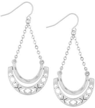 The Sak Hinge Trapeze Dangle Earrings