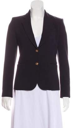 Alice + Olivia Notch-Lapel Button-Up Blazer