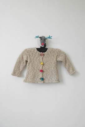 Scarecrow Kids Natural Knitted Cardigan