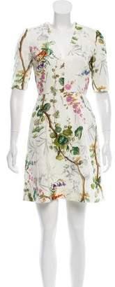 Philosophy di Lorenzo Serafini Mini Printed Dress w/ Tags