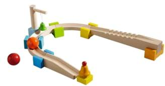 Haba My First Ball Track - 14-Piece Basic Pack Chatter Track Play Set