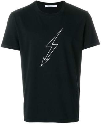 Givenchy Lightning and World Tour printed T-shirt