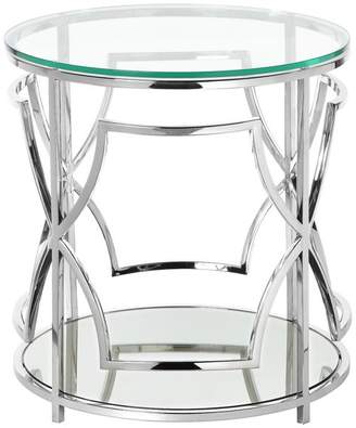 Pangea Home Edward Round Side Table
