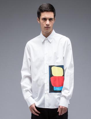 Marni Jack Davidson Graphic Print L/S Shirt $498 thestylecure.com
