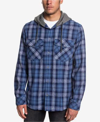 Quiksilver Men Magston Long Sleeve Hooded Shirt