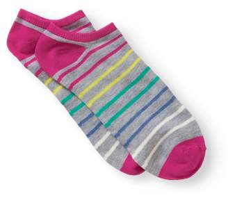 No Boundaries Ladies Panda 6-Pack No-Show Sock with 3D Feather Yarn Ears