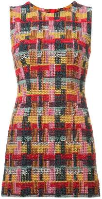 ADAM by Adam Lippes tweed fitted mini dress