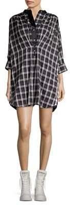 Marc Jacobs Plaid Shirtdress