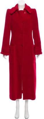 Etro Wool-Blend Long Coat