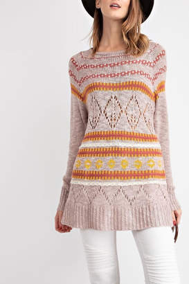 Easel Cozy Knit Sweater