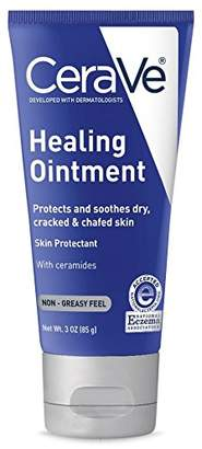CeraVe Healing Ointment 3 oz with Petrolatum Ceramides for Protecting and Soothing Cracked
