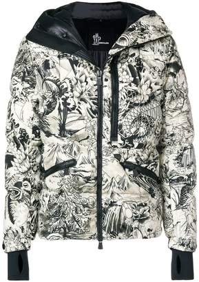 Moncler Coulmes printed jacket