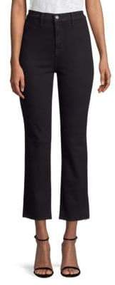 J Brand Stovepipe Cropped Jeans